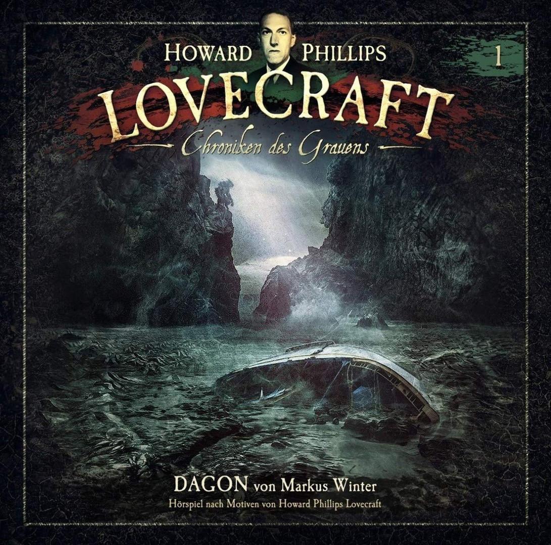 H.P. Lovecraft - Chroniken des Grauens - 1: Dagon (180g Green 2LP)