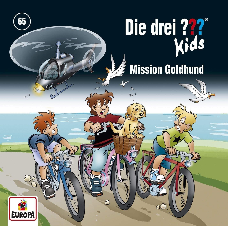 Die drei ??? Fragezeichen Kids - Folge 65: Mission Goldhund
