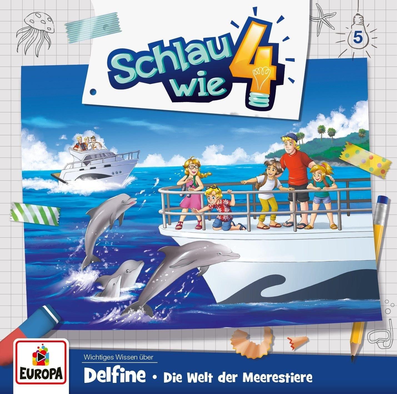Schlau wie Vier - Folge 5: Delfine - Die Welt der Meerestiere