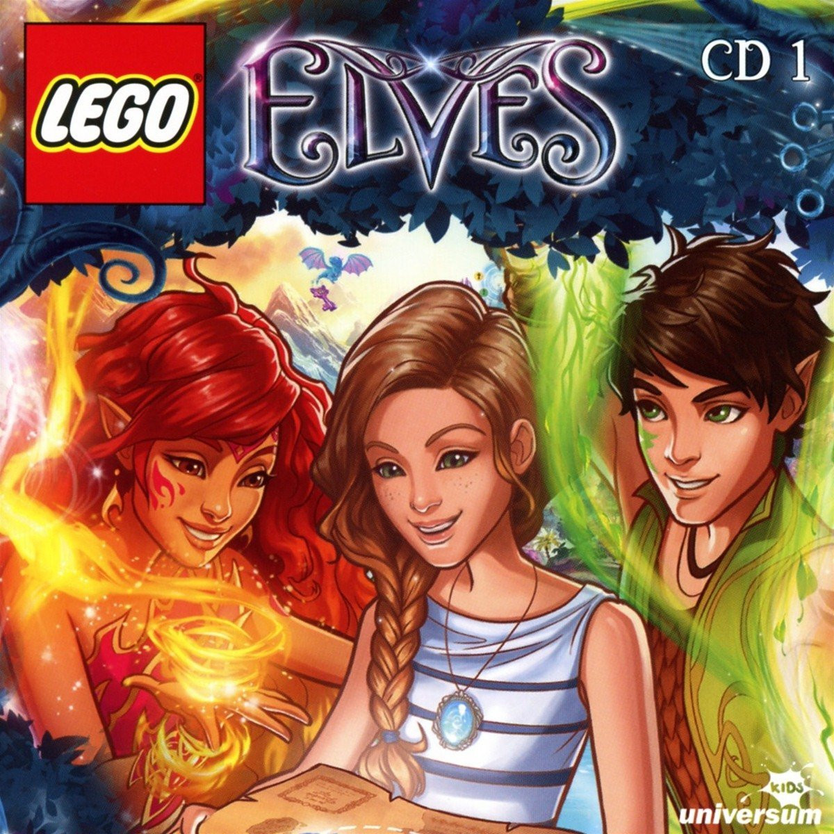 LEGO Elves - Die Elfen aus Elvendale - CD 1