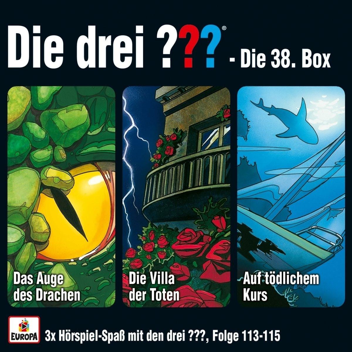 Die drei ??? Fragezeichen - Die 38. Box (Folgen 113, 114, 115)