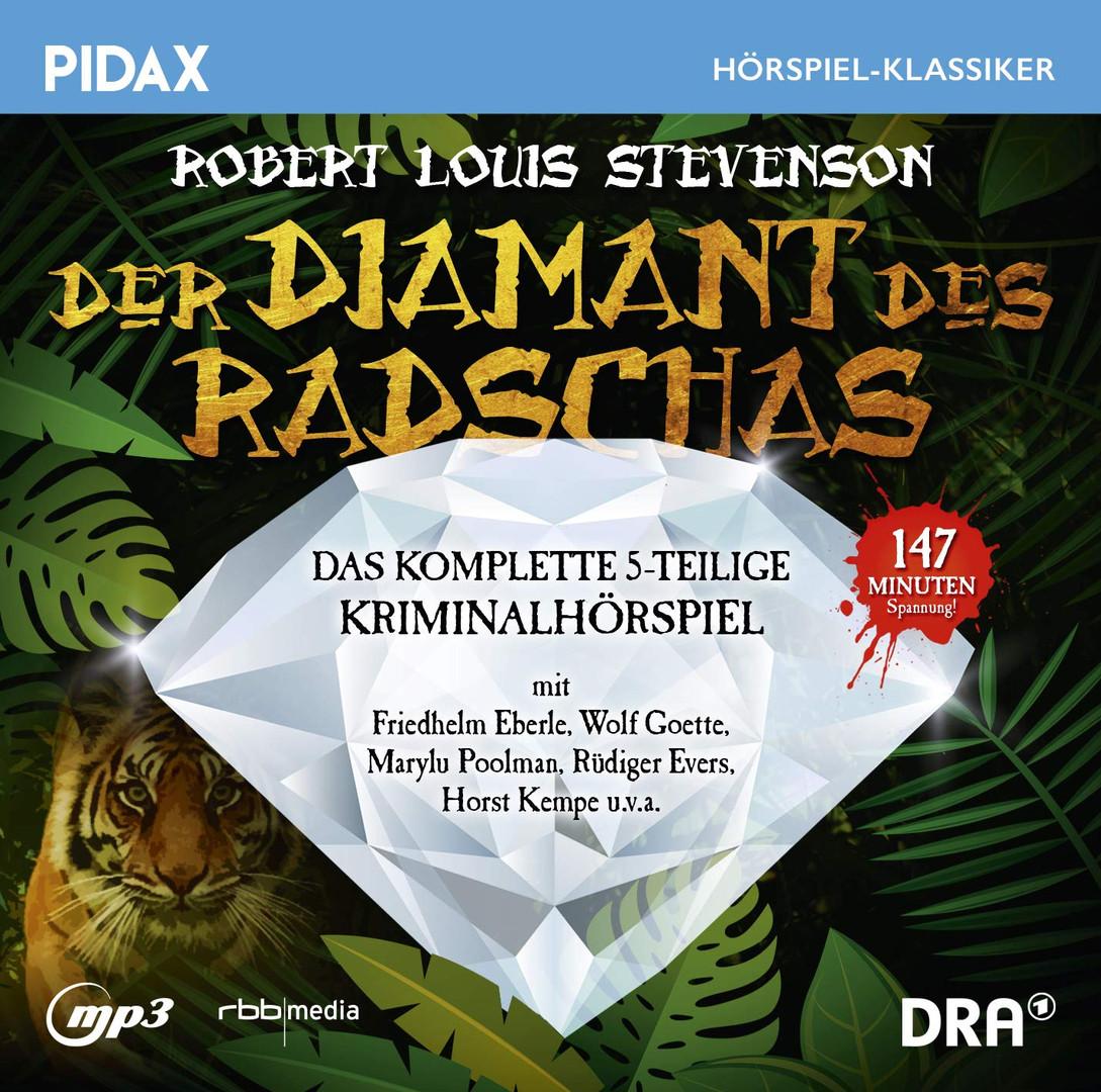 Pidax Hörspiel Klassiker - Der Diamant des Radschas