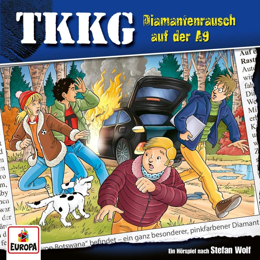 TKKG - Folge 214: Diamantenrausch auf der A9