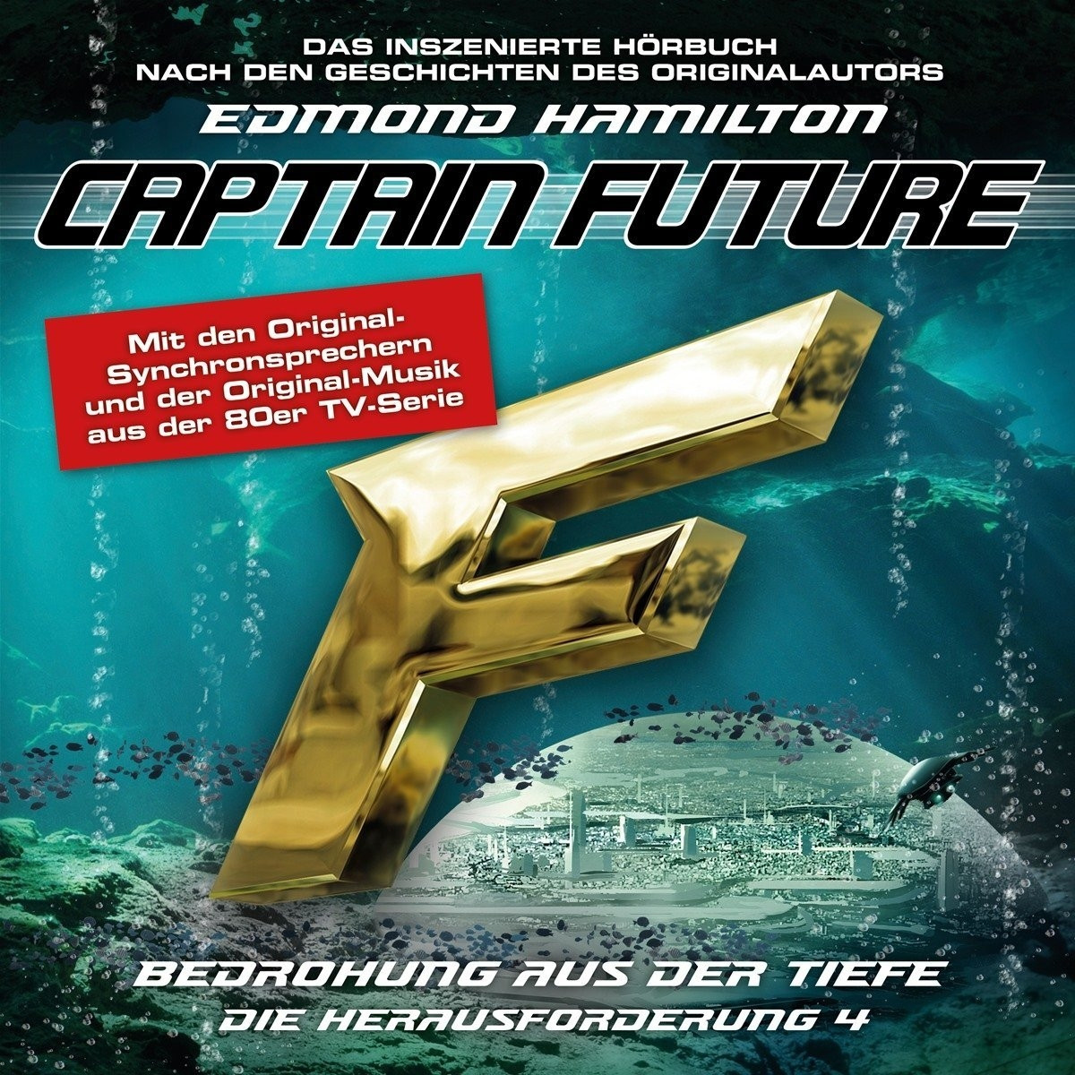 Captain Future: Die Herausforderung - Folge 04 Bedrohung aus der Tiefe
