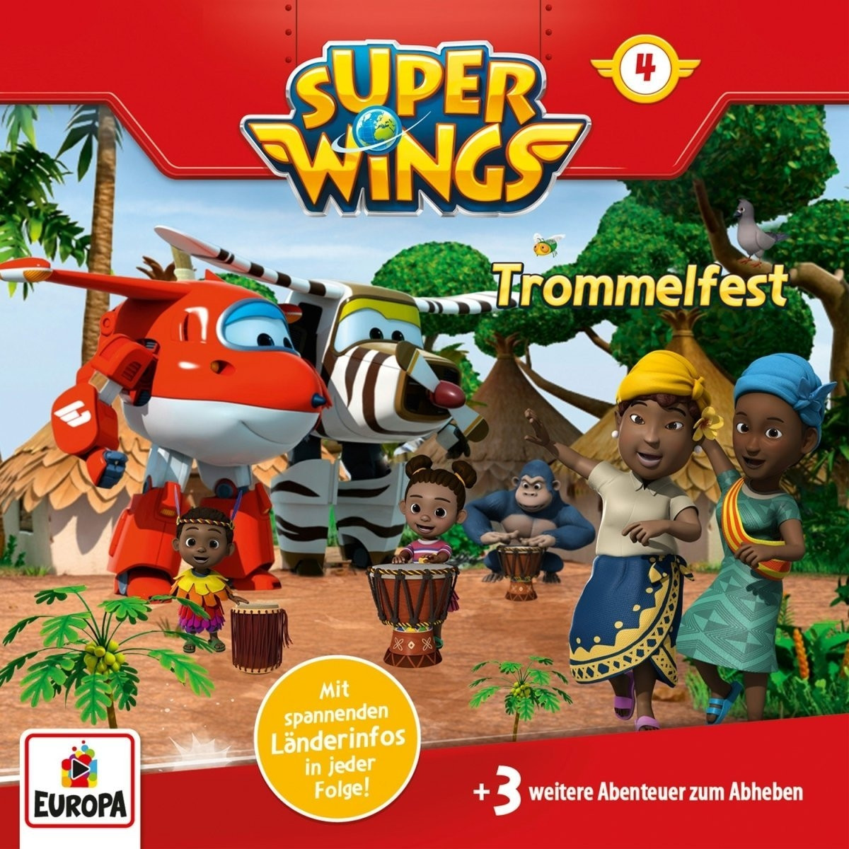 Super Wings - Folge 4: Trommelfest