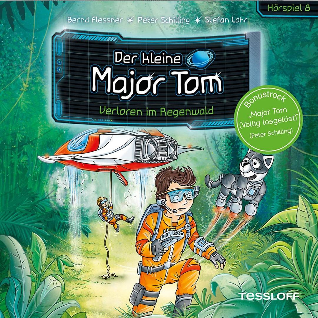 Der kleine Major Tom - Folge 08: Verloren im Regenwald