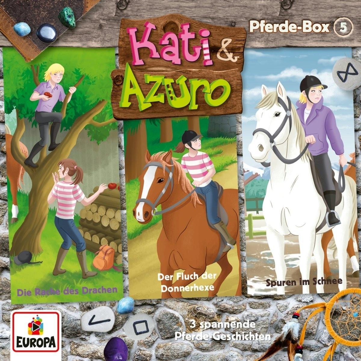 Kati & Azuro - Pferde Box 5 (Folge 13, 14, 15)