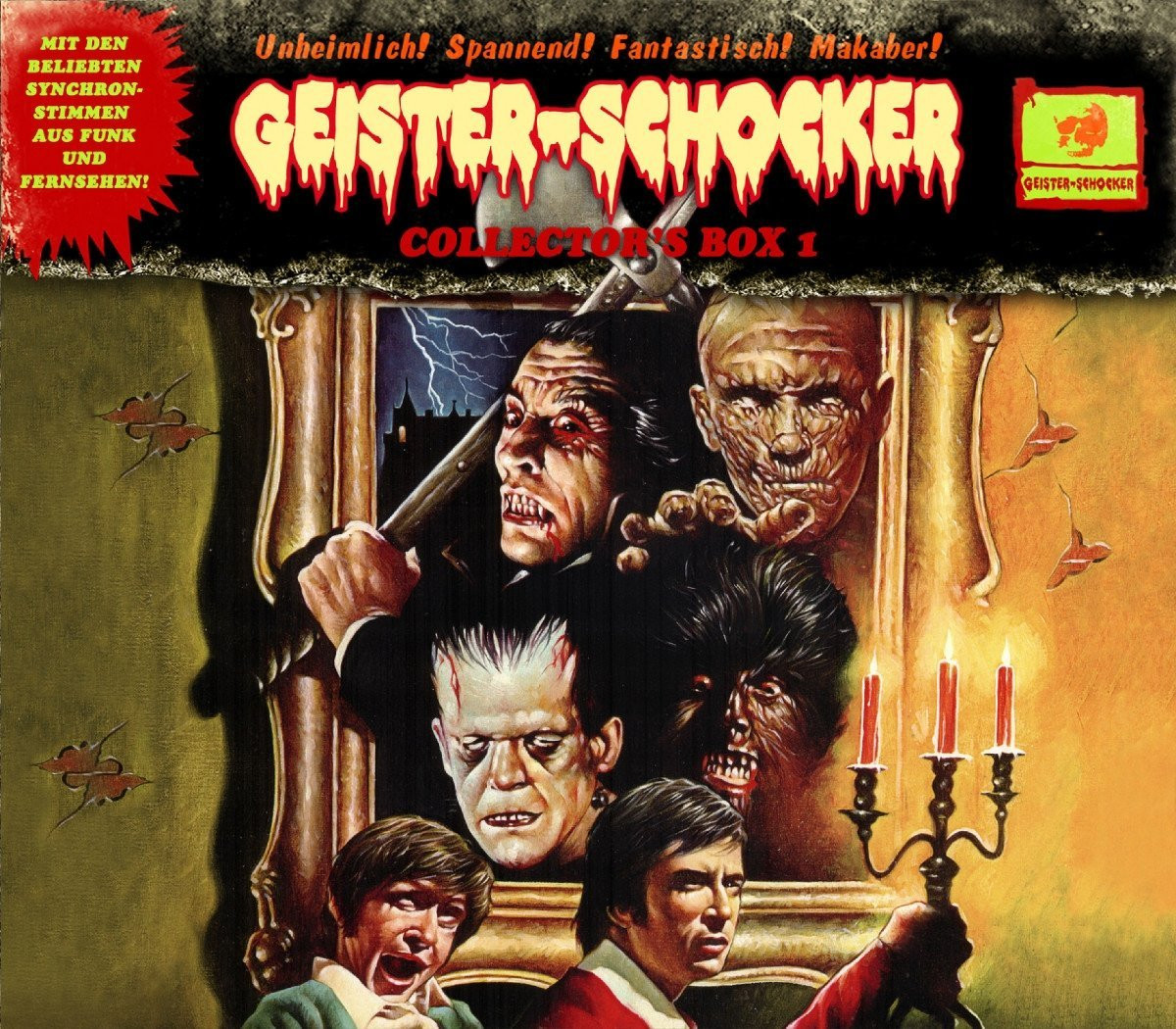 Geister-Schocker Collector's Box 1 (CD 0, SE und Folge 1)