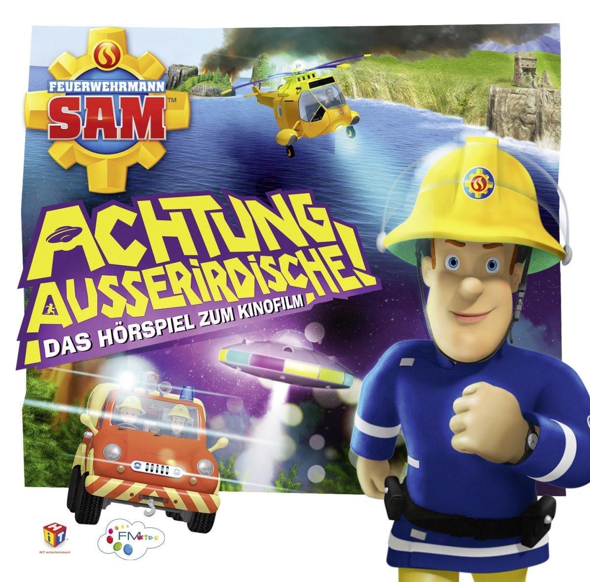 Feuerwehrmann Sam - Achtung Außerirdische - Das Hörspiel zum Kinofilm