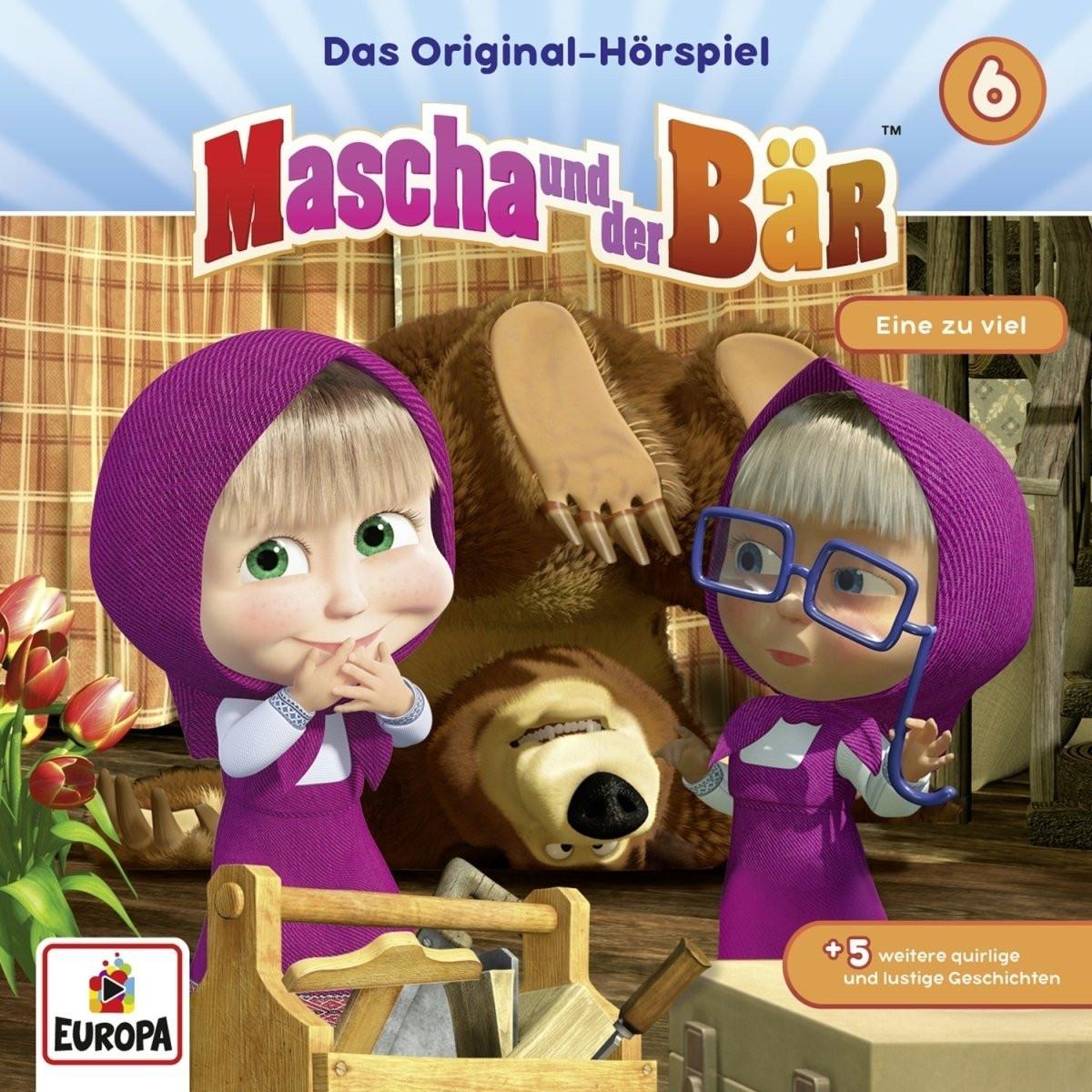 Mascha und der Bär - Folge 6: Eine zu viel