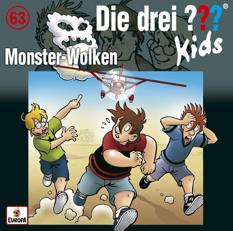 Die drei ??? Fragezeichen Kids - Folge 63: Monster-Wolken