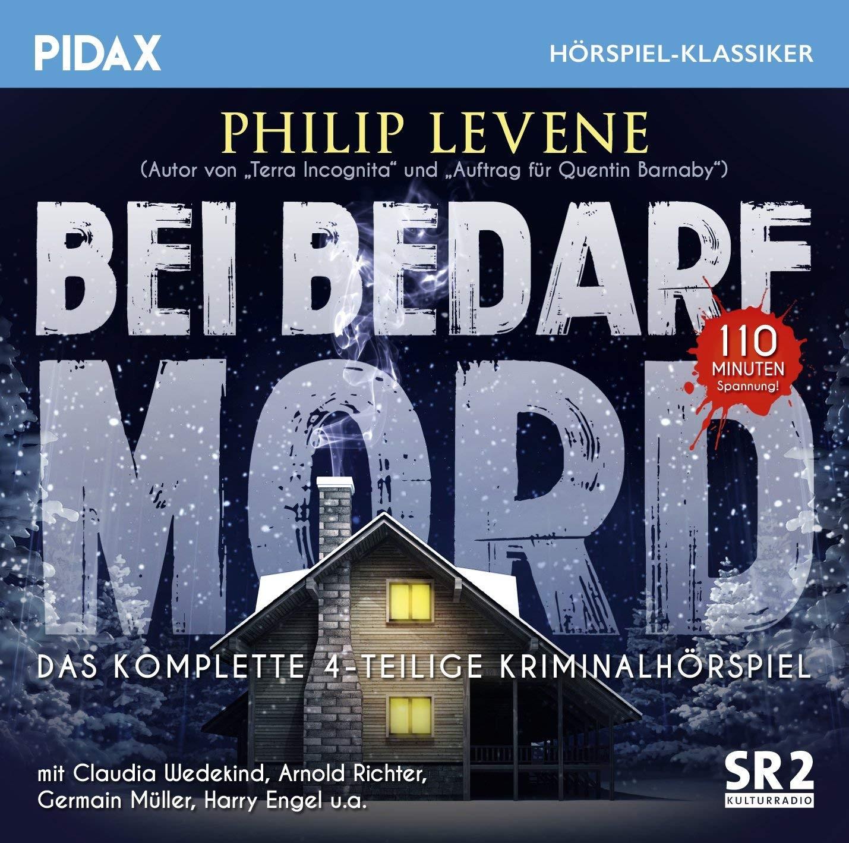 Pidax Hörspiel Klassiker - Bei Bedarf Mord