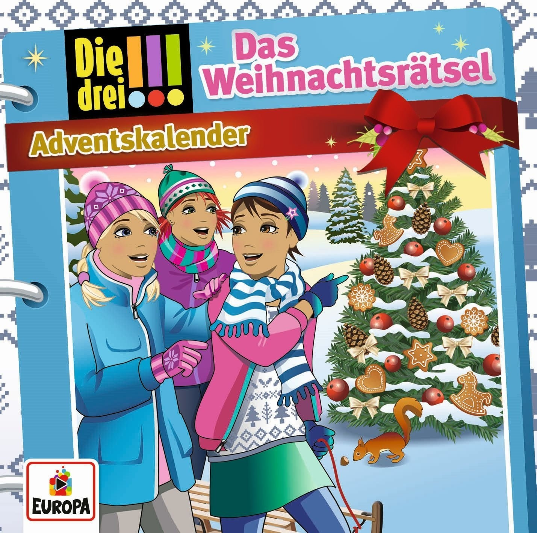 Die drei Ausrufezeichen - Die drei !!! Adventskalender: Das Weihnachtsrätsel