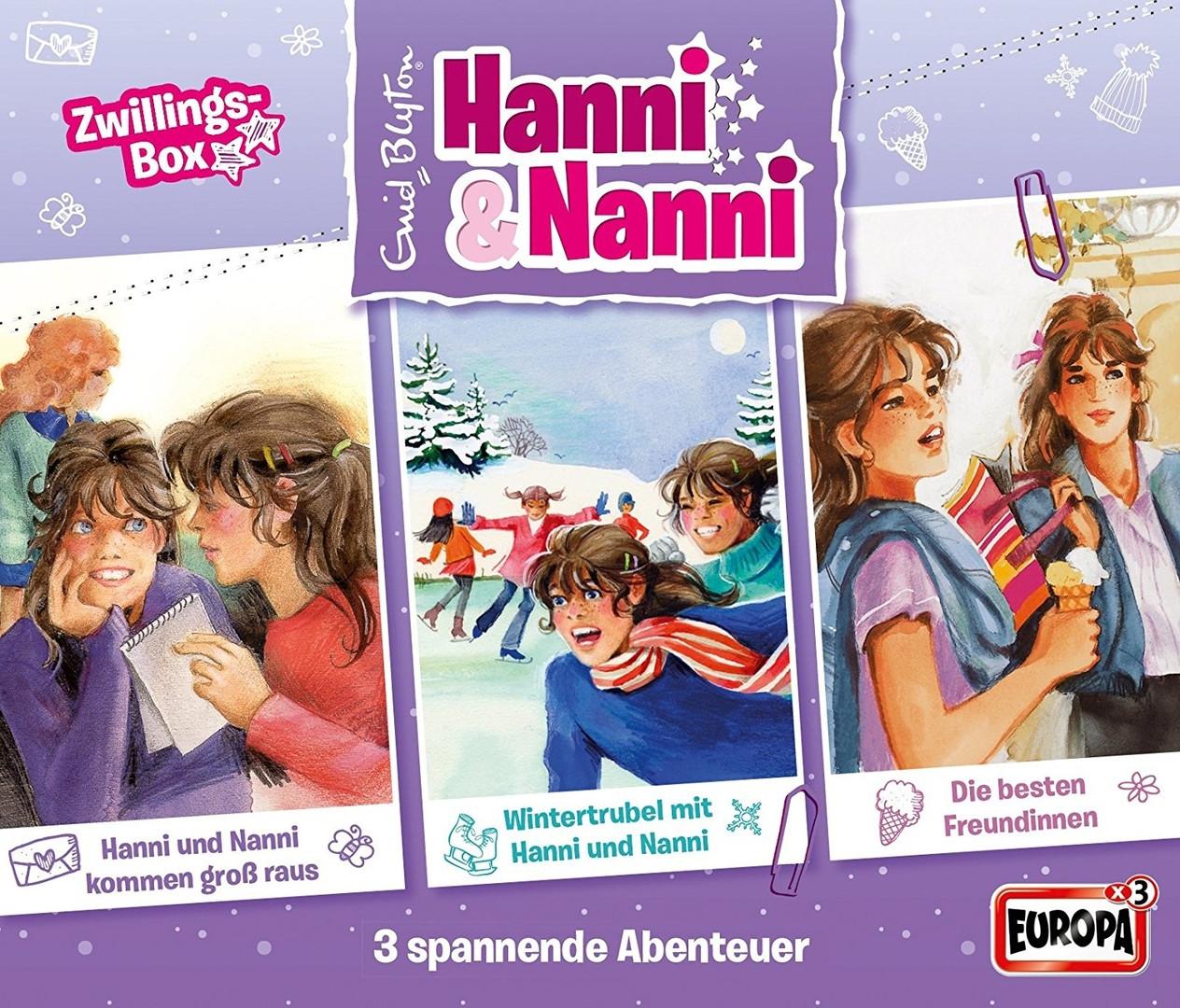 Hanni und Nanni -3er Box: Zwillingsbox