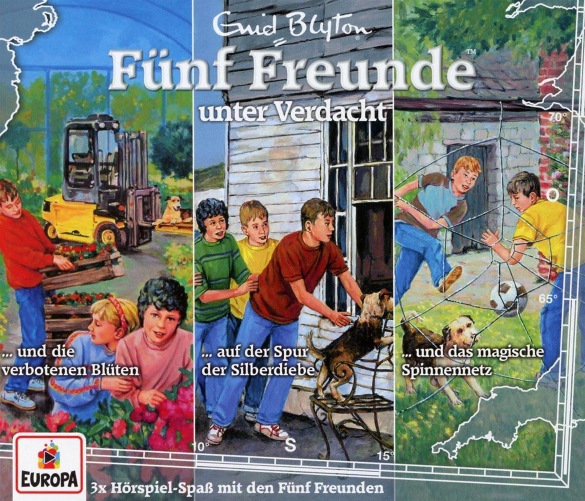 Fünf Freunde 28. 3er-Box: Unter Verdacht (Folge 86, 97, 105)