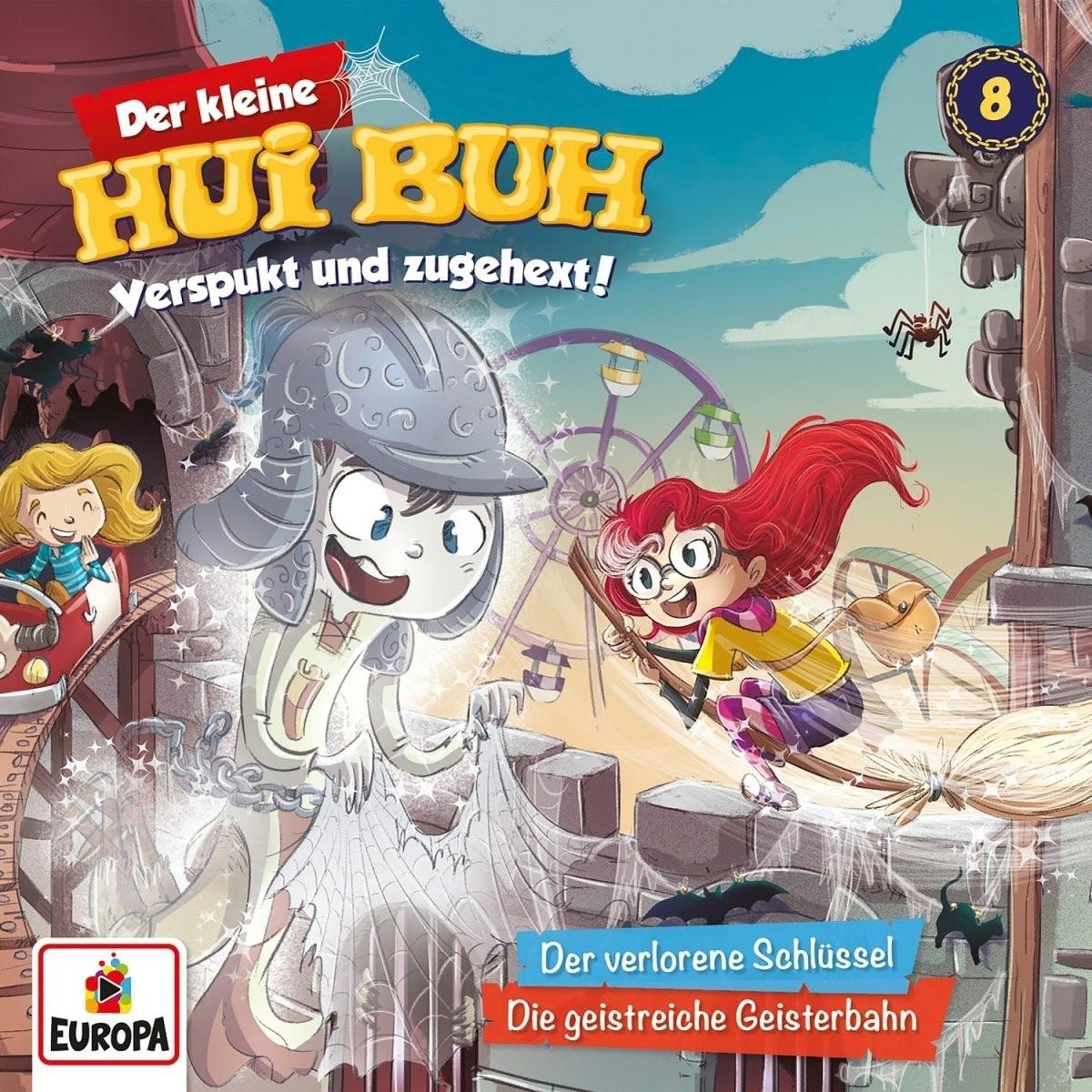 Der kleine HUI BUH - Folge 8: Der verlorene Schlüssel / Die geistreiche Geisterbahn