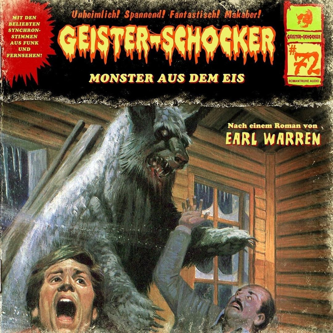 Geister-Schocker 72 Monster aus dem Eis