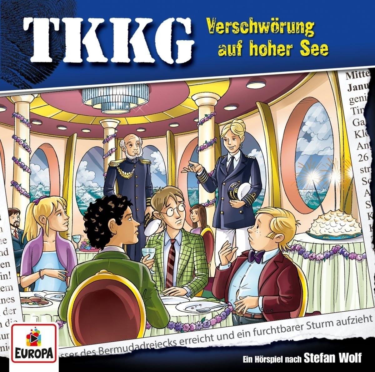 TKKG - Folge 204: Verschwörung auf hoher See