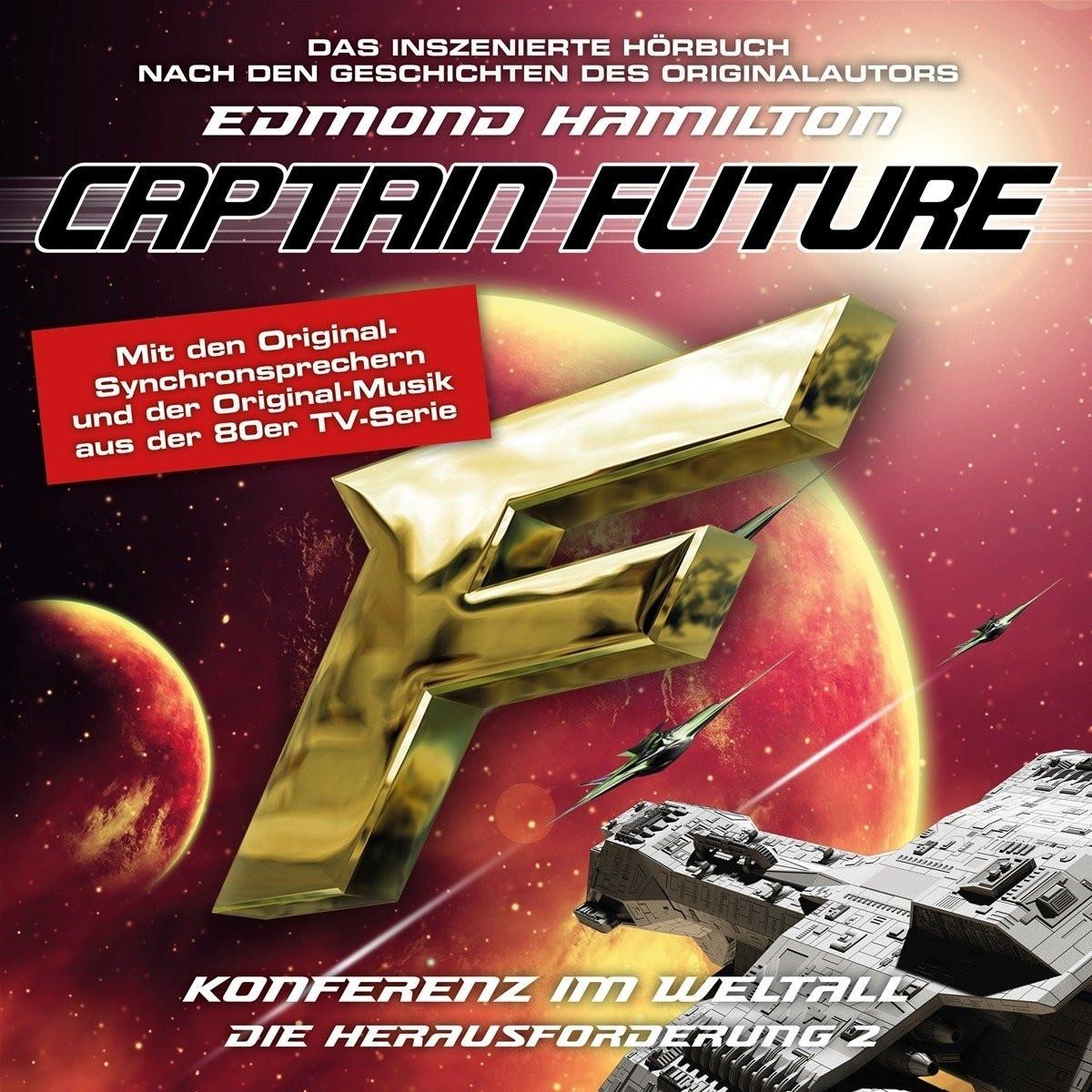 Captain Future: die Herausforderung - Folge 02 Konferenz im Weltall
