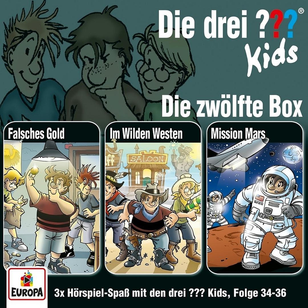 Die drei ??? Fragezeichen Kids - Die zwölfte Box (Folge 34-36)