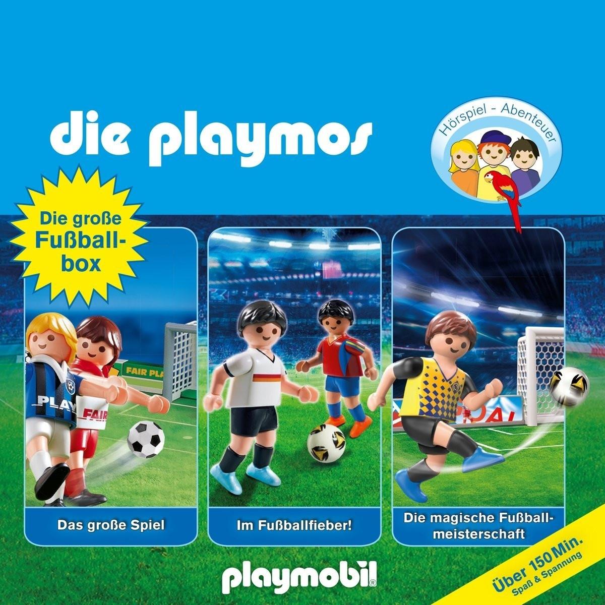 Die Playmos - Die Große Fußball-Box