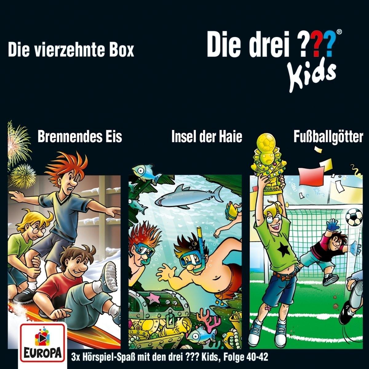 Die drei ??? Fragezeichen Kids - Die vierzehnte Box (Folge 40, 41, 42)