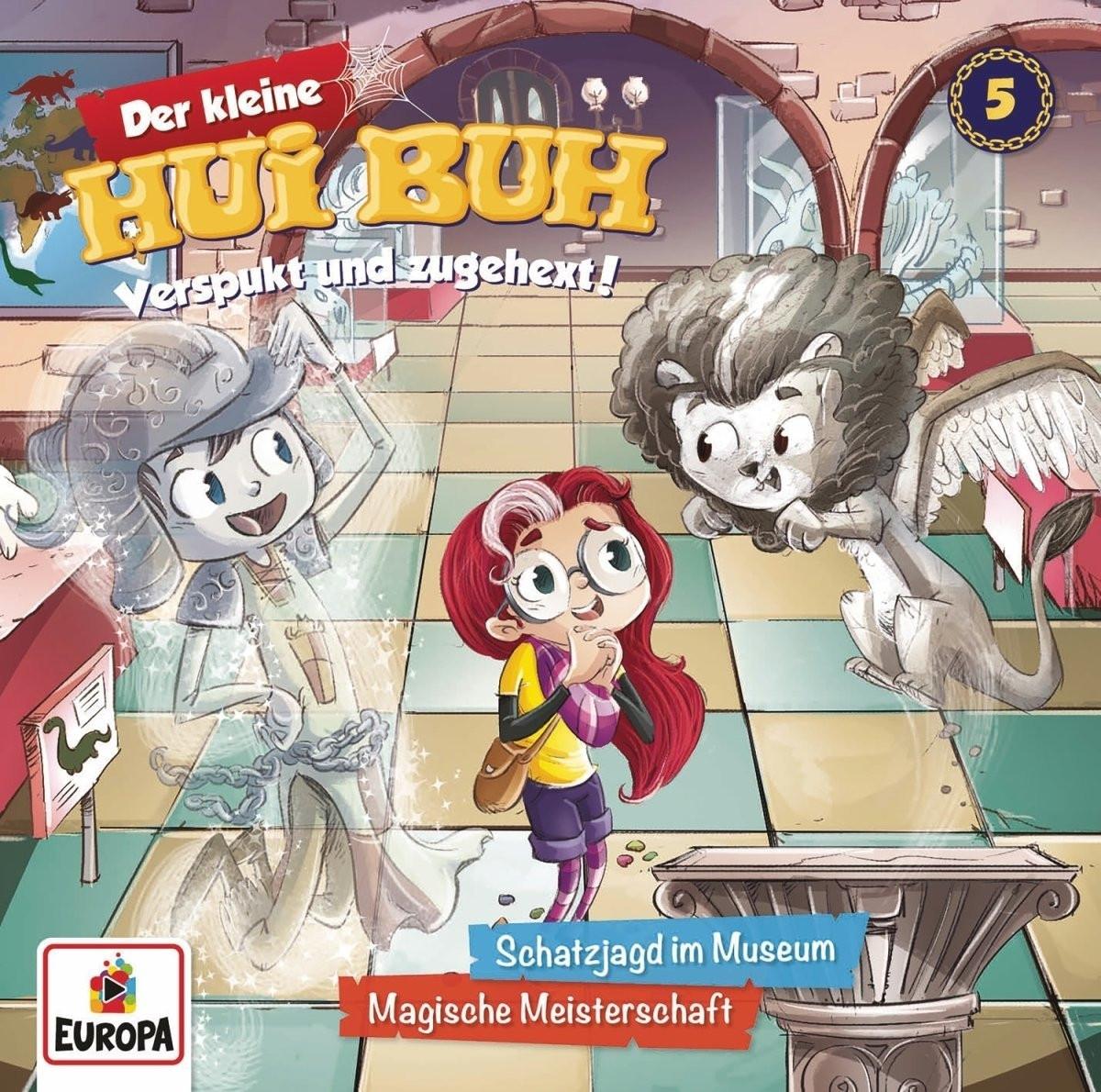 Der kleine HUI BUH - Folge 5: Schatzjagd im Museum / Magische Meisterschaft