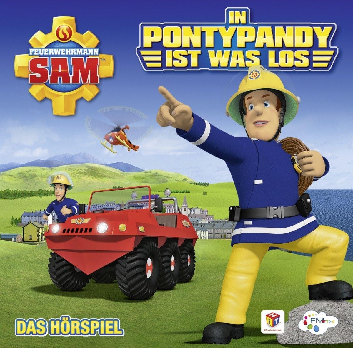 Feuerwehrmann Sam - In Pontypandy ist was los - Das Hörspiel