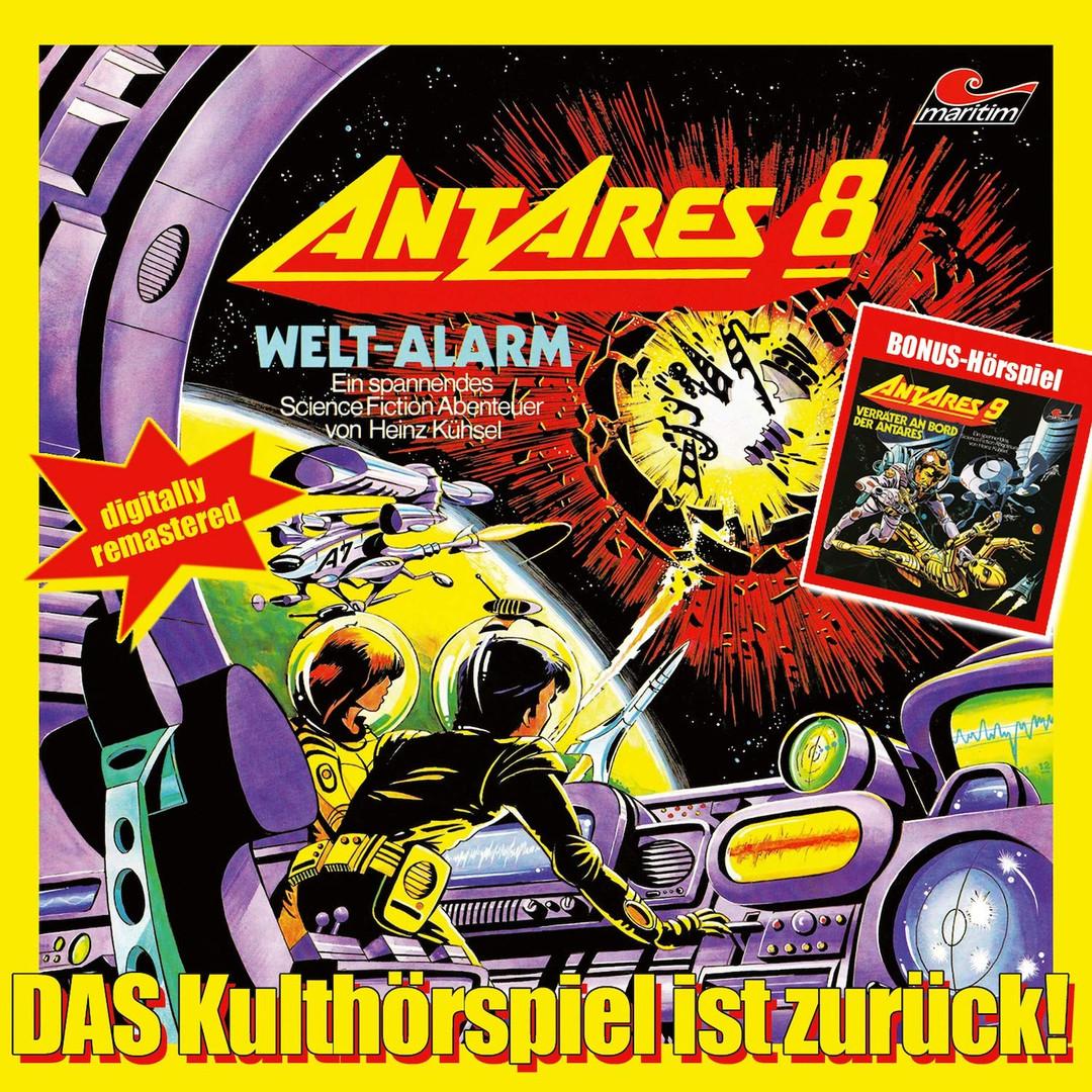 Heinz Kühsel - Antares 8 - 9 - 2CDs - Hörspiel