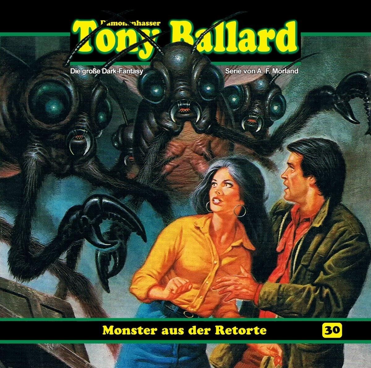 Tony Ballard 30 - Monster aus der Retorte