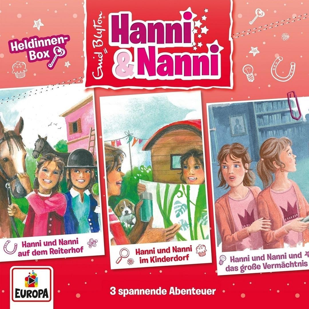 Hanni und Nanni - Die 14. Box: Heldinnen-Box (Folge 46-48)