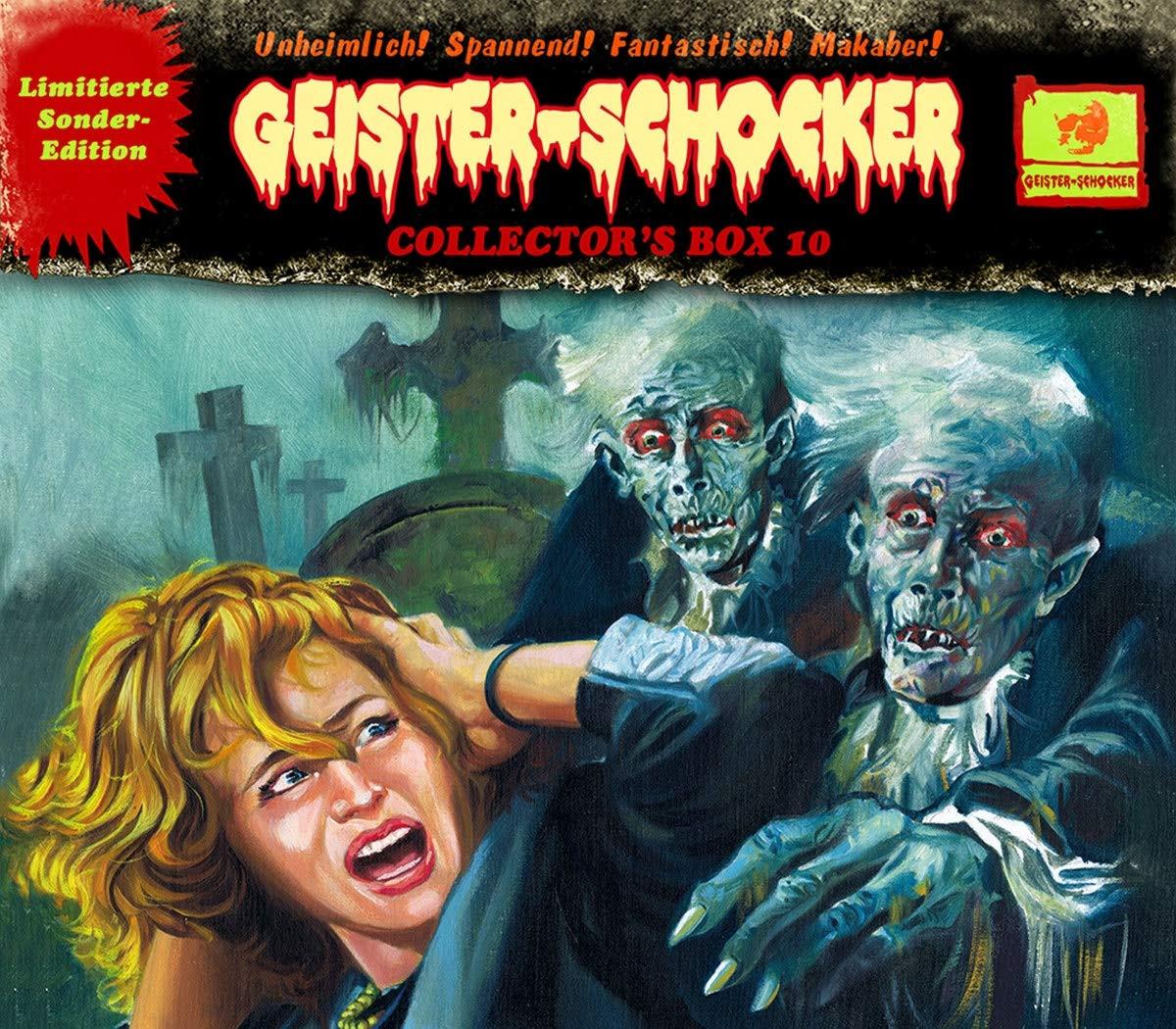 Geister-Schocker Collector's Box 10 (Folge 26-28)