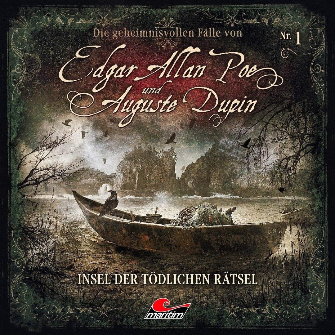 Die geheimnisvollen Fälle von Edgar Allan Poe und Auguste Dupin - Folge 1: Insel der tödlichen Rätsel