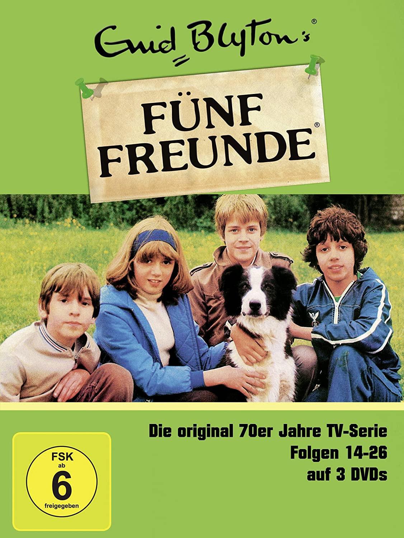 Enid Blyton - Fünf Freunde Box 2, Folgen 14-26 (3 DVDs)