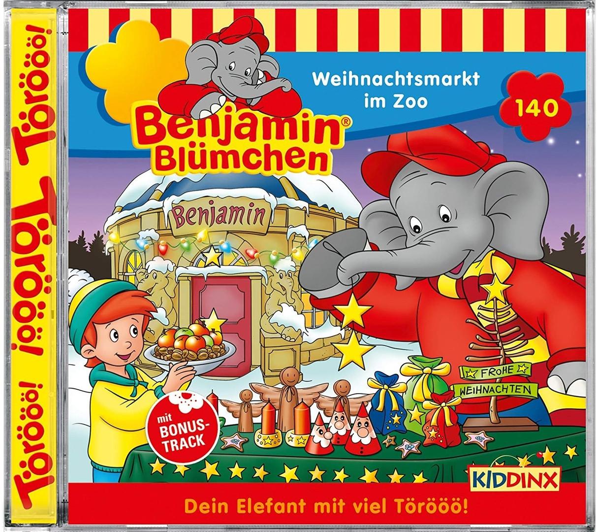 Benjamin Blümchen - Folge 140: Weihnachtsmarkt im Zoo