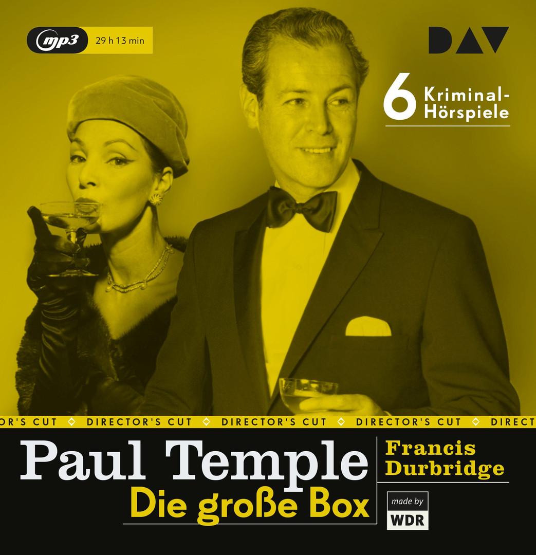 Francis Durbridge - Paul Temple – Die große Box (6 Kriminal-Hörspiele)