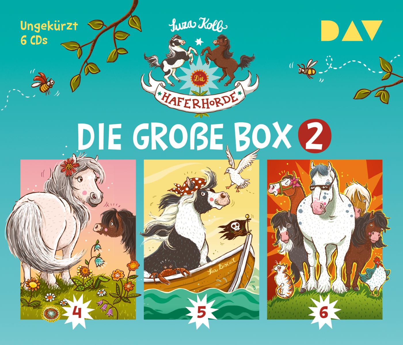 Die Haferhorde – Die große Box 2 (Teil 4-6)