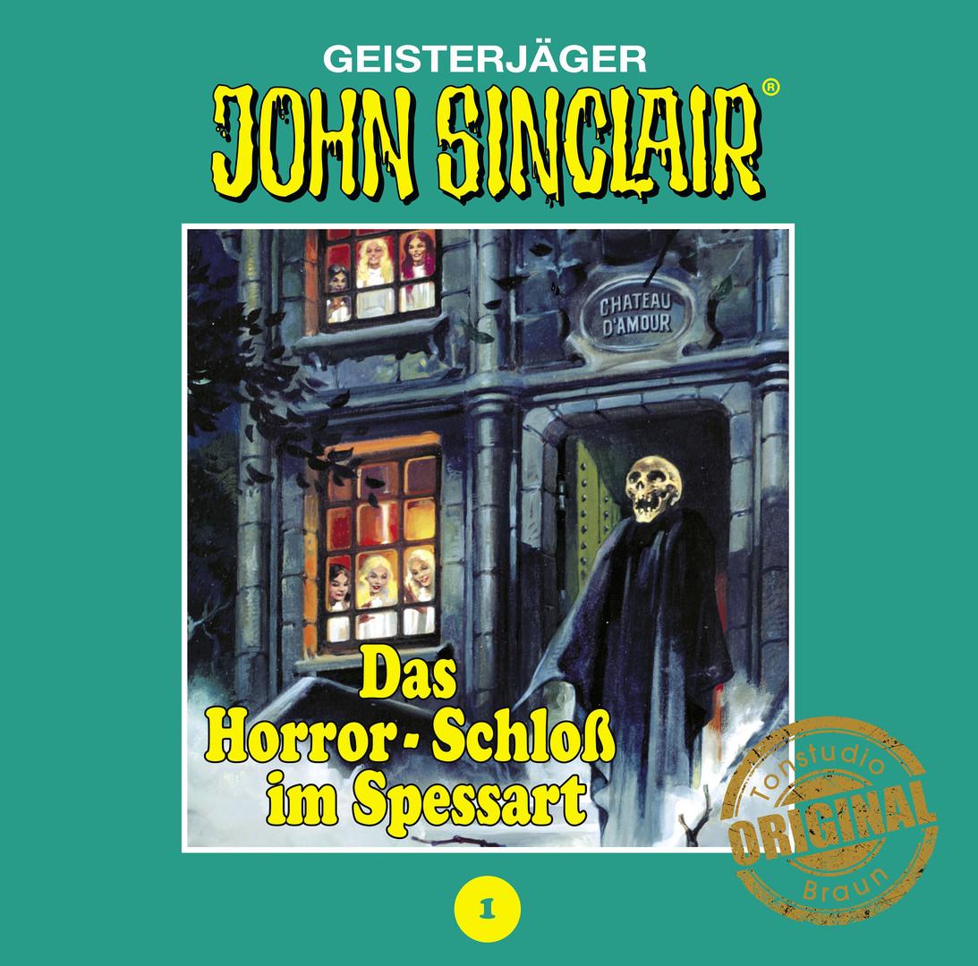 John Sinclair Tonstudio Braun - Folge 1: Das Horror-Schloß im Spessart (Limitierte Vinyl-Ausgabe)