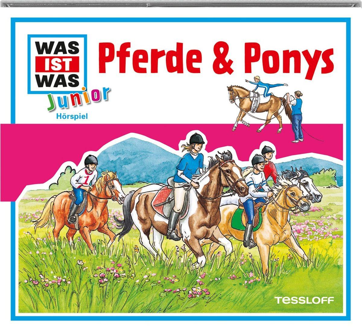 WAS IST WAS Junior Hörspiel-CD: Pferde & Ponys