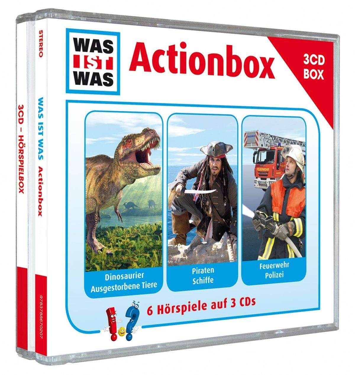 Was Ist Was - Hörspielbox Vol. 1 - Actionbox