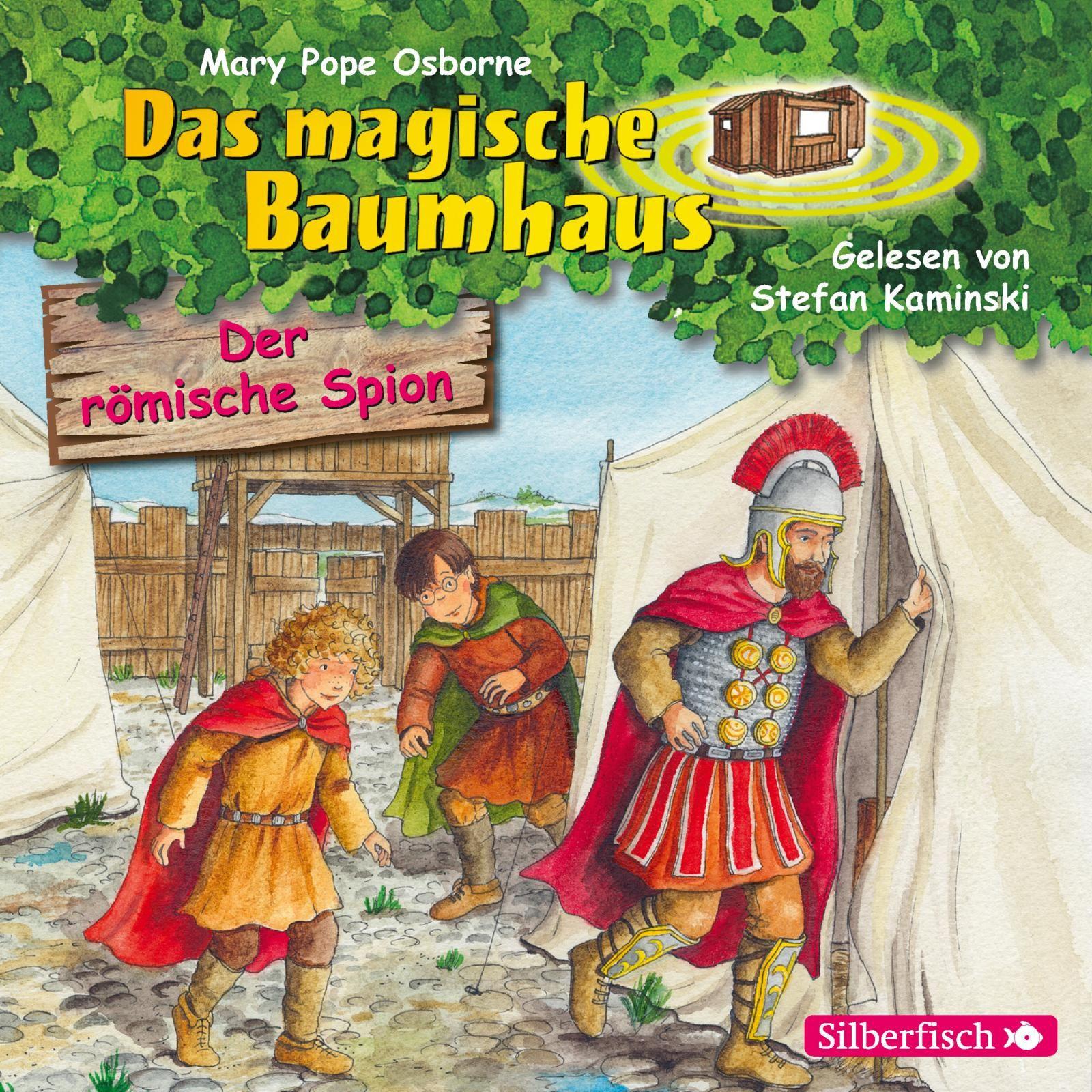Das magische Baumhaus - Band 56: Der römische Spion