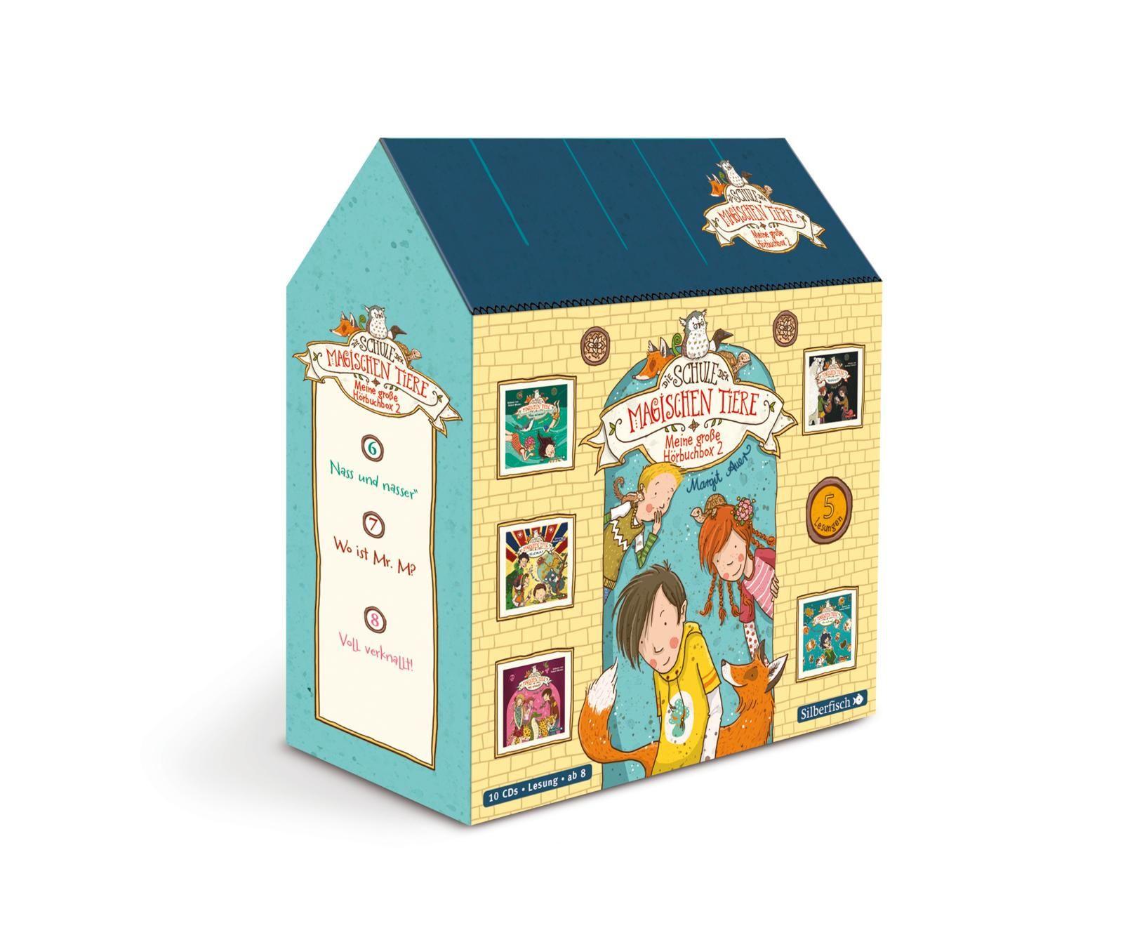 Die Schule der magischen Tiere - Meine große Hörbuchbox 2