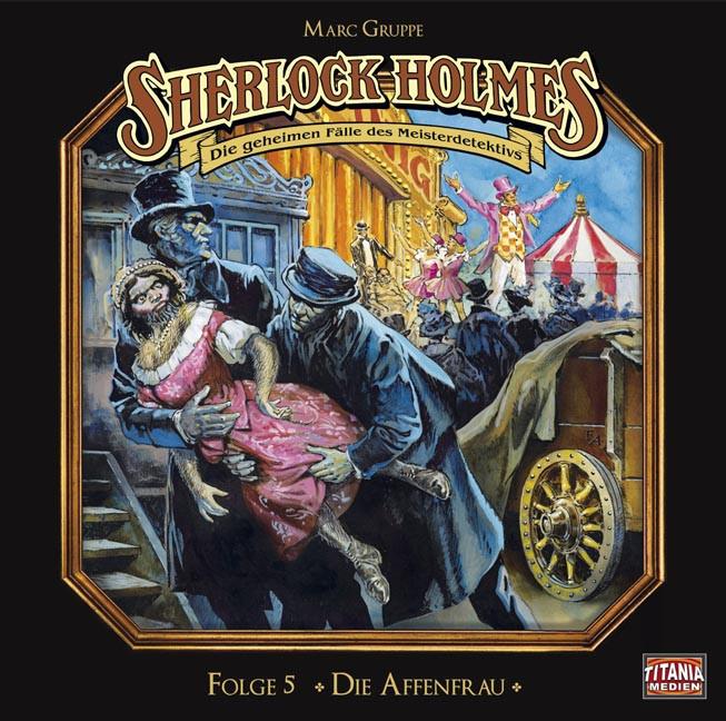 Sherlock Holmes (Titania) - 05 Die Affenfrau