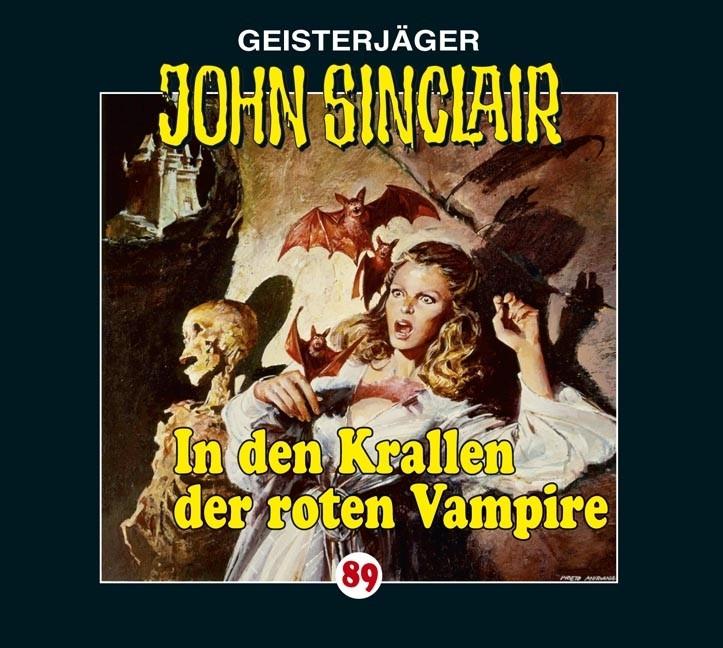 John Sinclair Folge 89 In den Krallen der roten Vampire