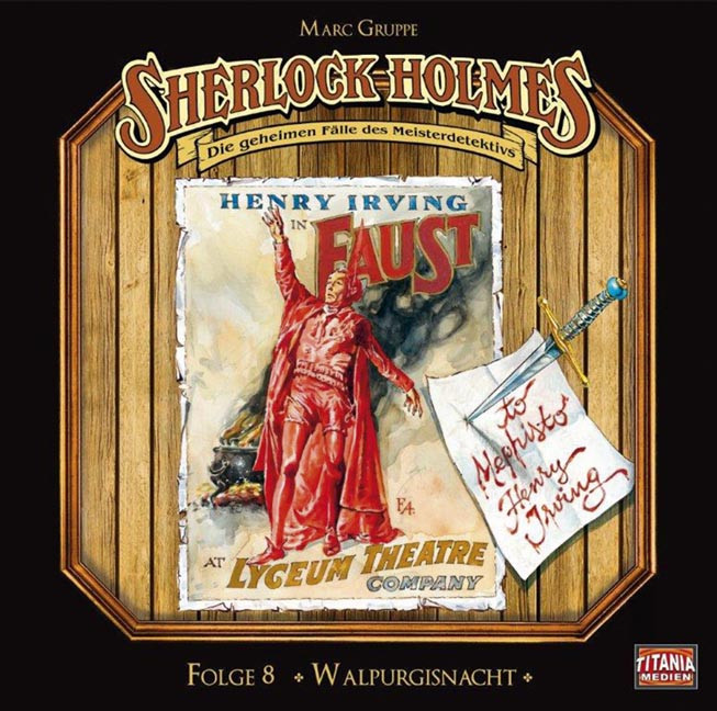 Sherlock Holmes (Titania) - 08 Walpurgisnacht