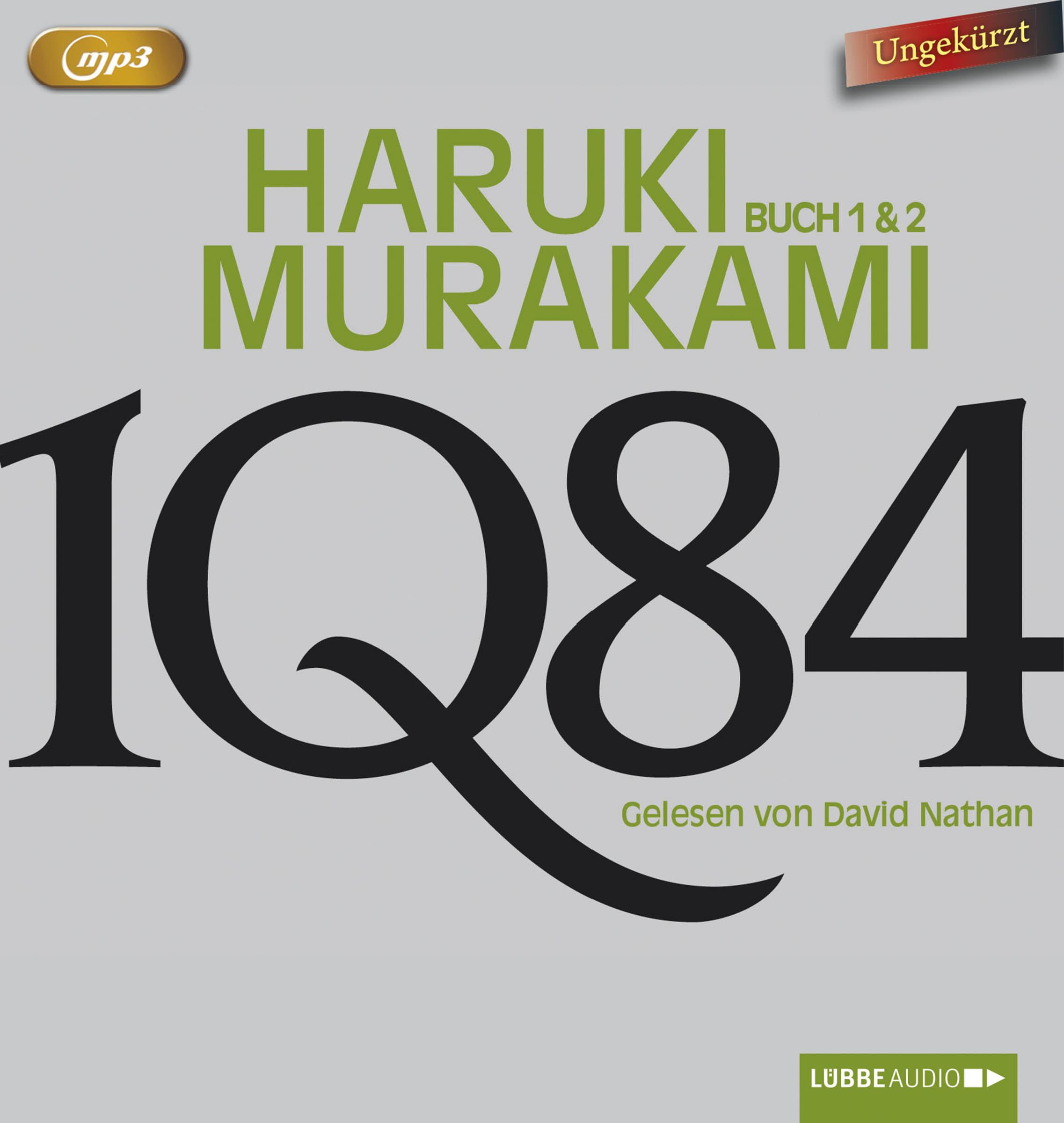 Haruki Murakami - 1Q84 - Buch 1 & 2