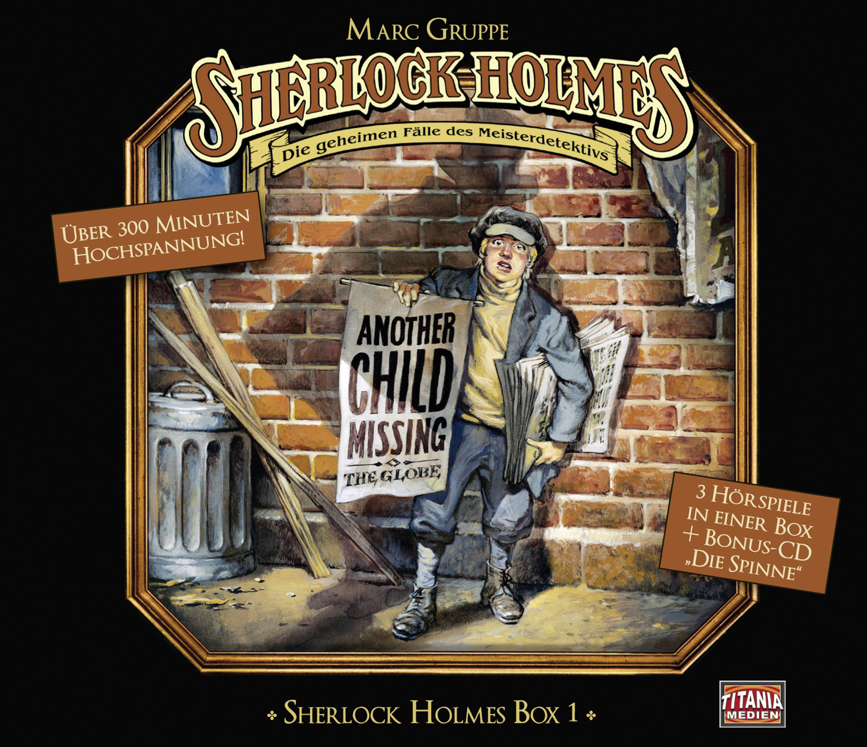 Sherlock Holmes Box 1
