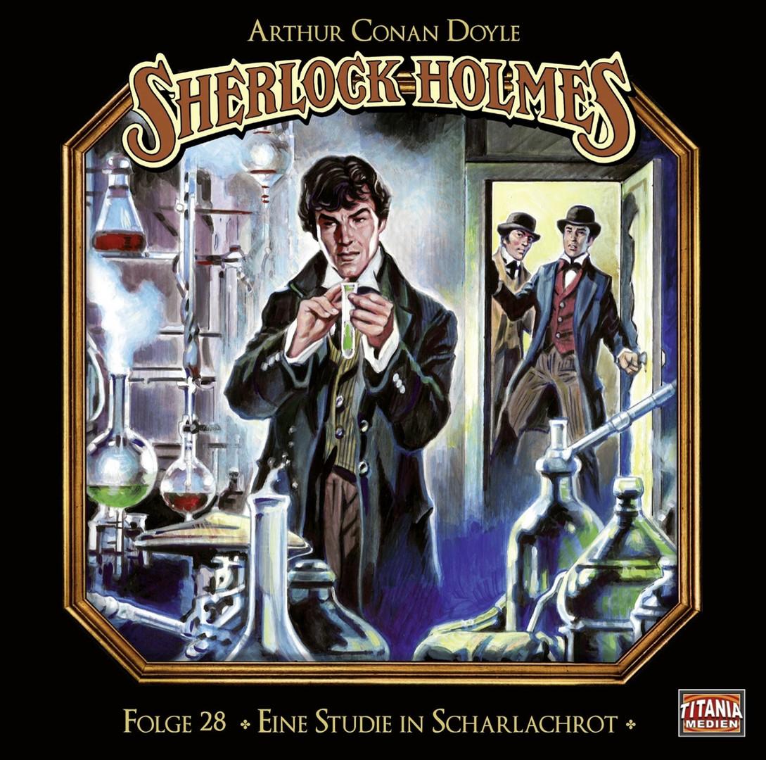 Sherlock Holmes (Titania) - 28: Eine Studie in Scharlachrot