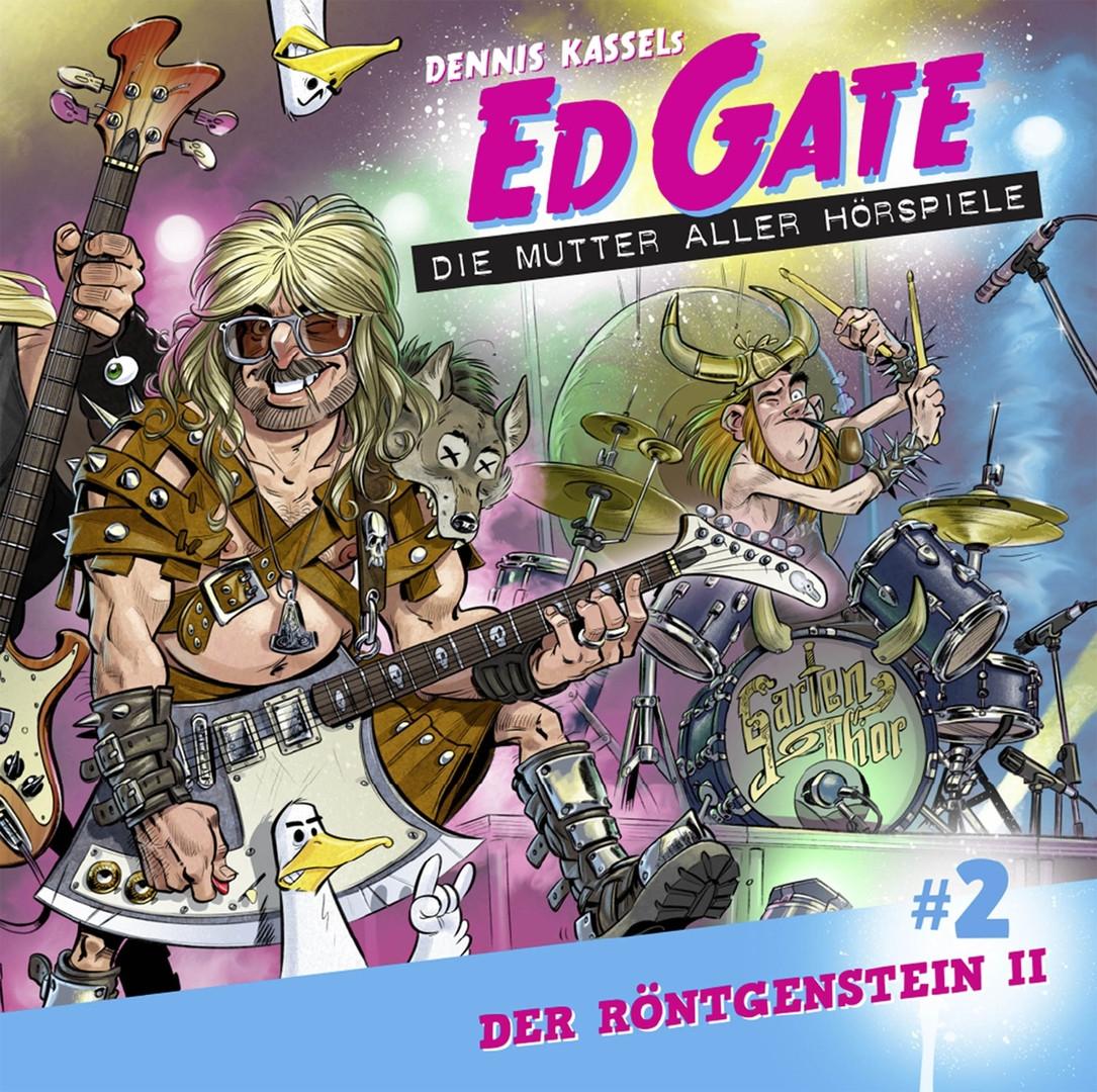 Ed Gate - Folge 02: Der Röntgenstein - Teil 02 von 02