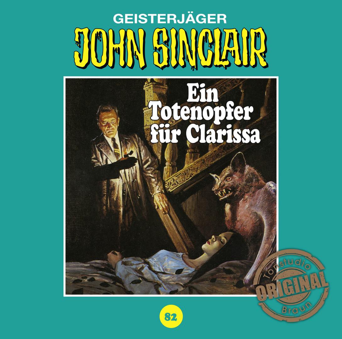 John Sinclair Tonstudio Braun - Folge 82: Ein Totenopfer für Clarissa